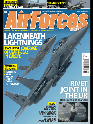 AirForces Monthly June 2017 (International)