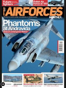 AirForces Monthly 2018-12 (International) 4 Page article, 1 Photo